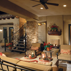 Mediterranean Patio by Guided Home Design
