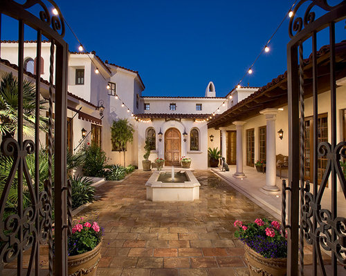 Mediterranean Patio Idea In Phoenix