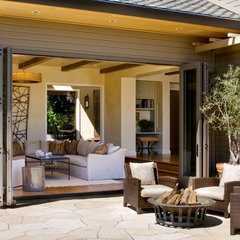 contemporary patio by Upscale Construction