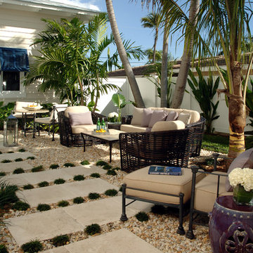 Exotic Zen Courtyard