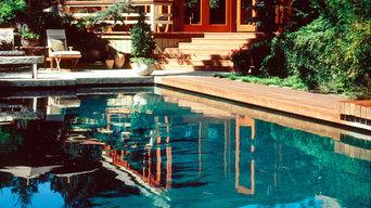 Exterior Cabana and Pool