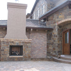 Traditional Patio by Merkley Supply
