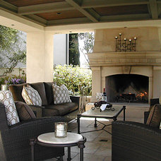Mediterranean Patio by Macaluso Designs, Inc.