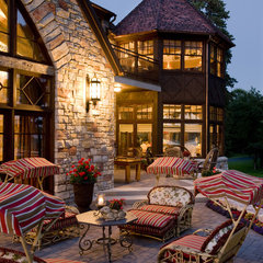 traditional patio by Gabberts Design Studio