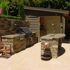 Traditional Patio by Christopher Hoover - Environmental Design Services