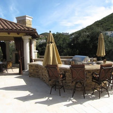 Mediterranean Patio by Brandi Smith