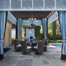 Traditional Patio by R & D Builders and Design LLC