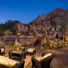 Traditional Patio by Mooney Design Group, Inc.