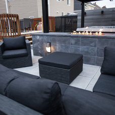 Contemporary Patio by N Design Interieur