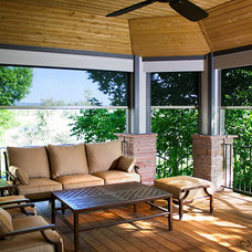 Modern Patio by Insolroll Window Shading Systems