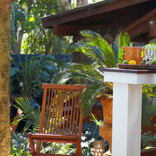 Tropical Patio by Amy Trowman Design