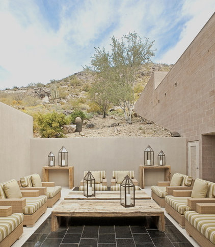 Southwestern Patio by Palm Design Group