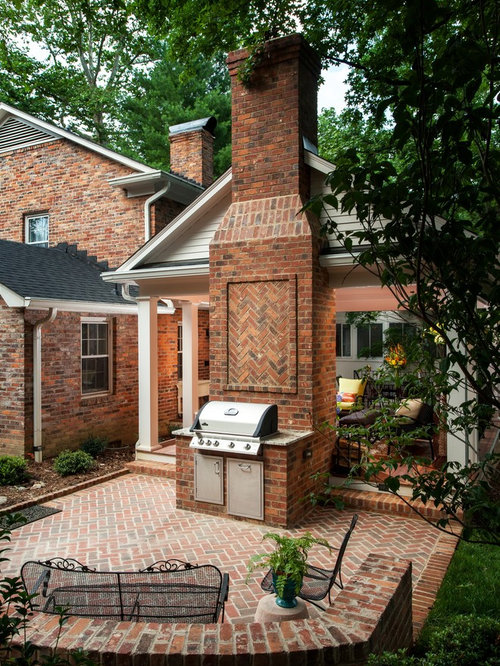 houzz brick barbecue grill design ideas remodel pictures