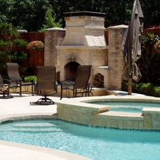 Mediterranean Patio by Call Steve Now