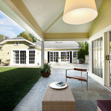 Traditional Patio by June Street Architecture