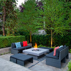 Exteriors Contemporary Patio Vancouver By Revival
