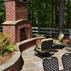 Traditional Patio by TG&R Landscape Group