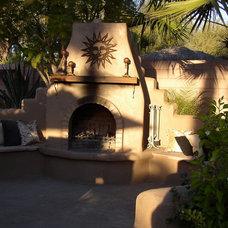 Mediterranean Patio by The 4R Group LLC