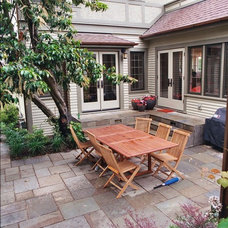 Traditional Patio by Exteriorscapes llc