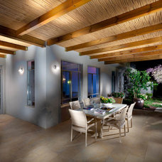 Contemporary Patio by Elad Gonen