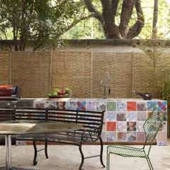 eclectic patio by Marco Antunio