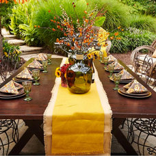 Rustic Patio by Tamsin Design Group
