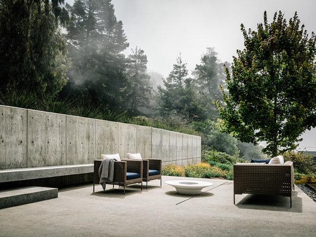 Contemporary Patio by Fougeron Architecture FAIA