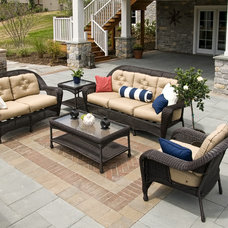Traditional Patio by Farinelli Construction Inc