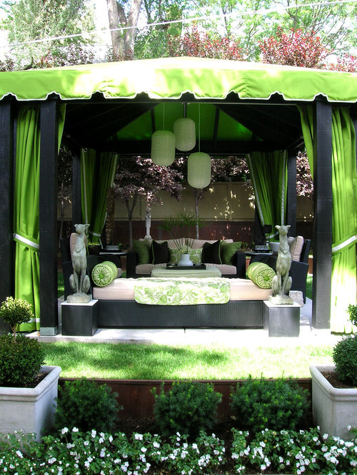 for a timeless patio remodel in salt lake city with a gazebo cabana