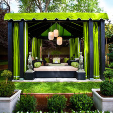 Traditional Patio by Gregg Hodson Interior Design