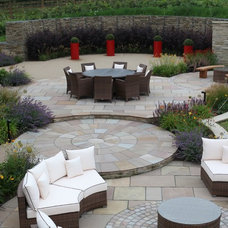 Traditional Patio by Bestall & Co Landscape Design