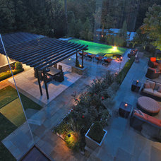 Contemporary Patio by Lewis  Aquatech