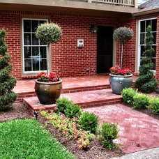 Traditional Patio by Spencer Howard Design + Construction Management