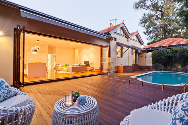 Contemporary Patio by The Perth Property Co.