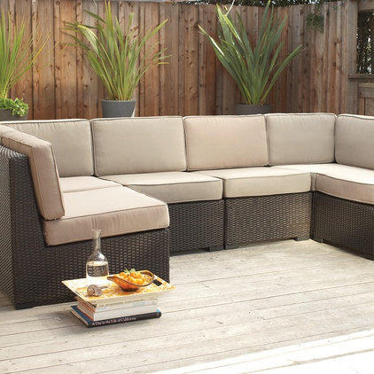 Modern Patio by Plummers Furniture