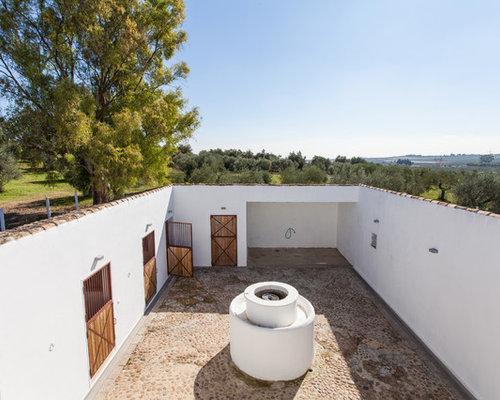 Fotos de patios dise os de patios de estilo de casa de campo - Patios con estilo ...