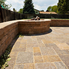 Traditional Patio by Hiner Landscapes