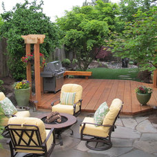 Traditional Patio by Stock & Hill Landscapes, Inc.