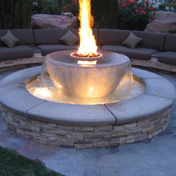 Fire Feature - Backyard Blaze