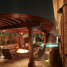 Mediterranean Patio by AquaTerra Outdoors