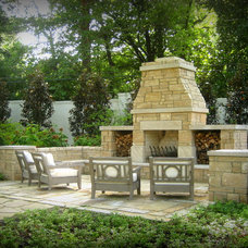 Traditional Patio by Wantland Ink Landscape Architecture, PLLC