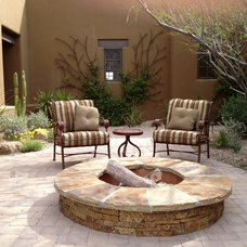 Mediterranean Patio by Outdoor Lifestyles by Par