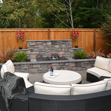 traditional patio by All Oregon Landscaping
