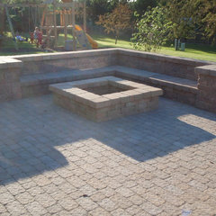 traditional patio by Bob Pfeil Bob's Grading Inc.