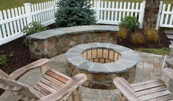 Fire Pit and Sitting Wall
