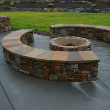 Traditional Patio by Andy Johnston Construction LLC