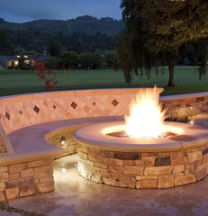traditional patio by Claudio Ortiz Design Group, Inc.