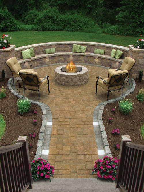 backyard patio design ideas, remodels  photos  houzz, Patio