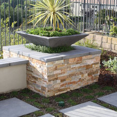 Modern Patio by Green Scene Landscaping & Pools