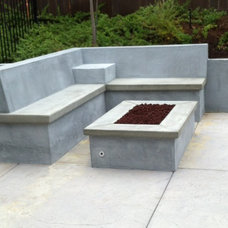 Contemporary Patio by Lawns & Beyond Landscape Company, Inc.